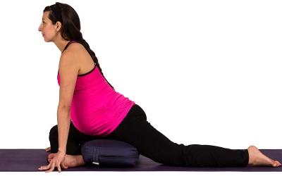 Yoga for Pregnancy | Pigeon Pose