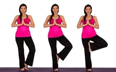 Yoga for Pregnancy | Tree Pose