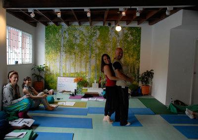 Prenatal Yoga for Men!